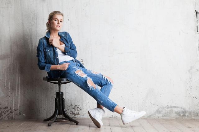 styl, moda, jeans, dżins, artykul sponsorowany